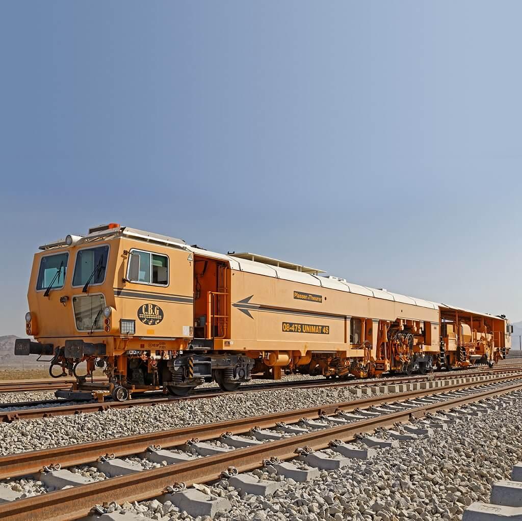 روسازی راهآهن تهران-همدان