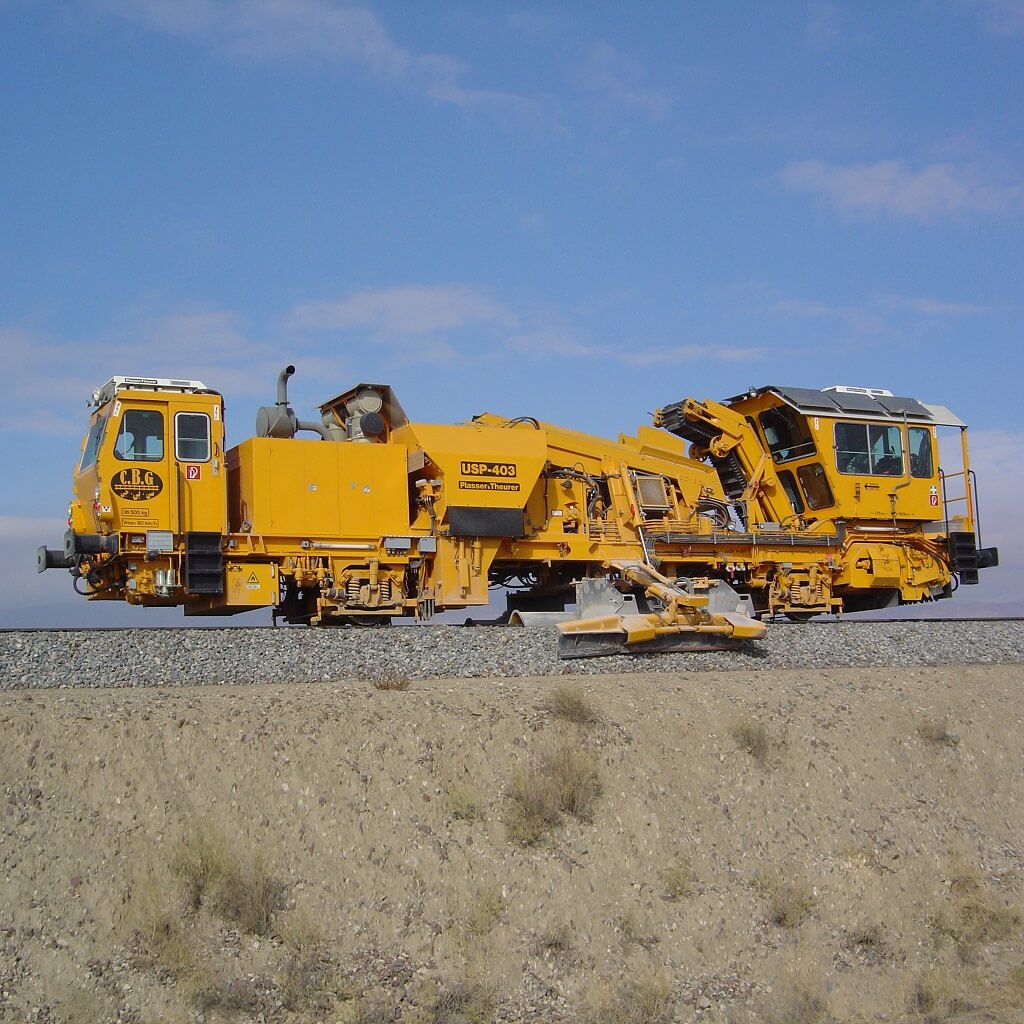 روسازی راهآهن خواف-هرات