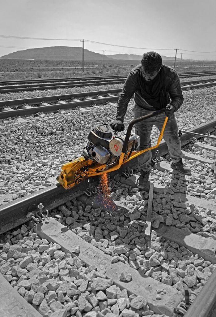 عملیات نگهداری خطوط راهآهن ناحیه شمال شرق