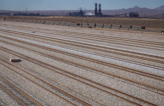 روسازی راهآهن
